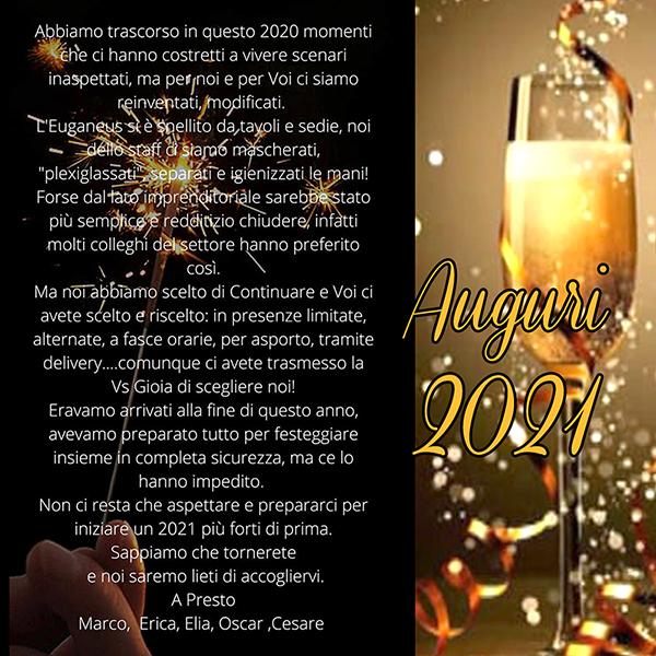 Auguri 2021 Euganeus 2000